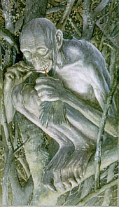 Alan Lee's Gollum