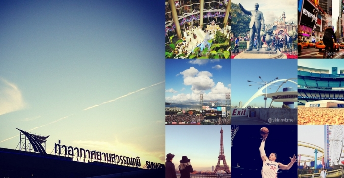 Instagram top places 2012