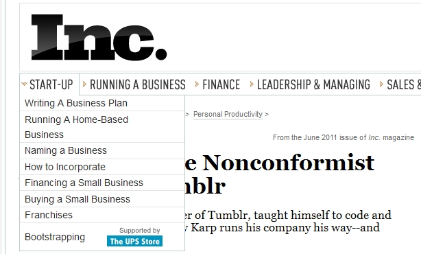 INC. Startup