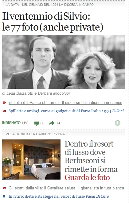 Corriere.it Berlusconi