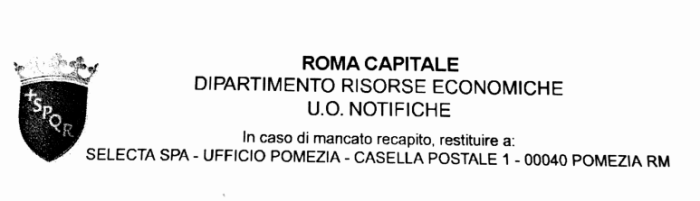 notifica roma capitale